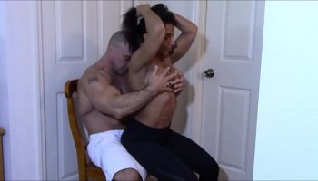 GIANNA MICHAELS STRIPPING & MASTURBATING THEN LAP DANCE